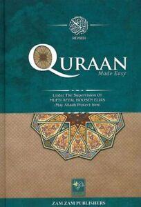 Qur'an Quran Made Easy Arabic English Translation Afzal Hoosen Elias by zamzam p