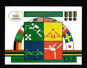 Turkmenistan 23 MNH Souvenir Sheet
