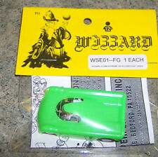 """New"" Wizzard Storm Extreme Fluorescent Green Hard Body Ho Slot Car"