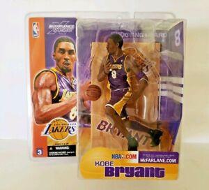 Koby Bryant L.A Lakers 8 purple uniform. McFarlane's SportsPicks 2003 NBA.