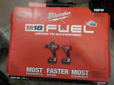 Milwaukee 2897-22 M18 FUEL 18-Volt Cordless Power Li-Ion 2-Tool Combo Kit