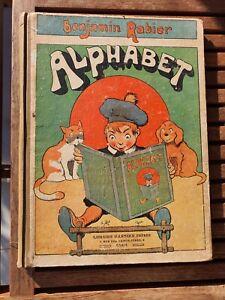 Ancien livre l'Alphabet de Benjamin Rabier RARE 1925