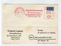 GERMANY: 1952 folded postcard with NOTOPFER 2 BERLIN STEUERMARKE stamp (C47752)