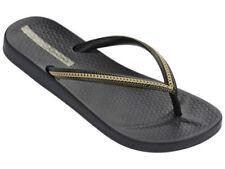 Sandalias y chanclas de mujer negro Ipanema