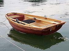 Fibreglass & Oak 8' Rowing Boat