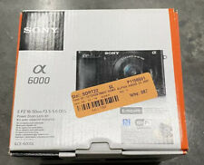 Sony Alpha a6000 Mirrorless Digital Camera with 16-50mm Lens, Graphite
