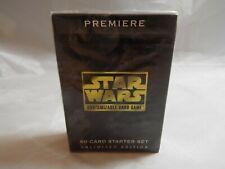 STAR WARS CCG PREMIERE WHITE BORDER SEALED STARTER DECK OF 60 CARDS