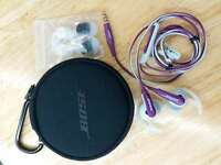 Bose SoundSport SIE2i In-Ear Headphones W/Remote control & Mic for iPhone Purple