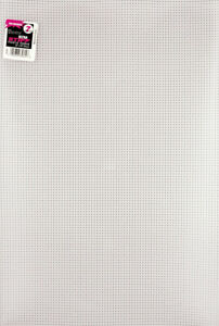 "Darice Ultra Stiff Plastic Canvas 7 Count 12""X18""-Clear -33106"