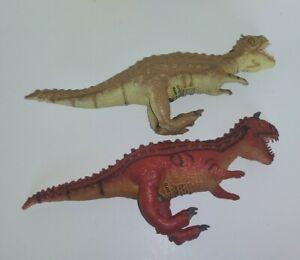 Disney's Animal Kingdom Carnotaurus Alsioramus Dinosaur Dinoland Toy Figure Lot