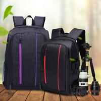 Waterproof DSLR Storage Bag Travel Camera Backpack Shoulder Bag for Canon Grace