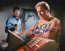 STAR TREK: MIRROR MIRROR SIGNED PHOTO WILLIAM SHATNER LEONARD NIMOY AUTOGRAPH