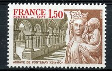 TIMBRE FRANCE NEUF N° 1938 ** ABBAYE DE FONTENAY
