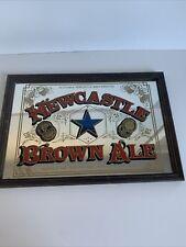 More details for vintage newcastle brown ale mirror pub advertising man cave bar retro *2 (600)