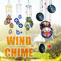 Tree of Life Wind Chime Metal Hanging Ornament Garden Outdoor Home Decor Gift US