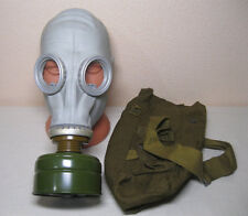 Soviet russian military Gas mask Gp-5. Grey rubber Full set. New , Nos. All Size