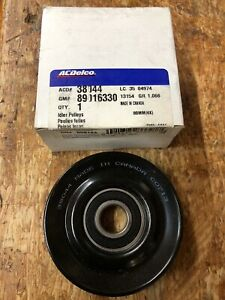 ACDELCO 38044 DRIVE BELT IDLER PULLEY FOR ASPIRE VILLAGER & NISSAN ALTIMA QUEST