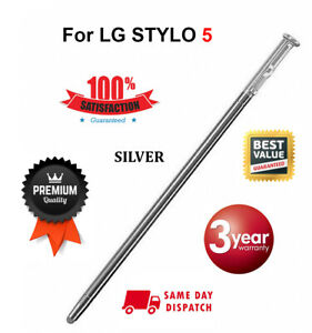 OEM For LG Stylo 5 S Pen Replacement NEW Pencil Q720CS/PS/VS/MS Stylus | SILVER