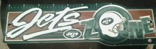 BRAND NEW New York Jets Street Zone Sign NEW 5 1/2 x17