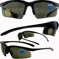 Apex Bifocal Safety Glasses Magnifying Reading Eyewear 2.5 Magnifier Smoke Lens