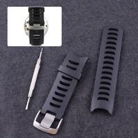 Schwarz Ersatzuhrenarmband + Werkzeug für Garmin Forerunner 610 010-11251-05