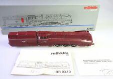 Märklin 37911 Dampflok mit Tender 03.1012 der DRG Stromlinie, rot, Rauch digital