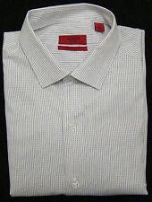 Alfani Gray Multi Color Stripe Fitted Long Sleeve Dress Shirt  15 15 1/2 - 32-33