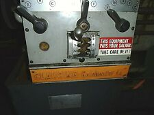 Clausing Colchester 13 Inch Metal Lathe Quick Change Gearbox