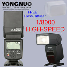 YONGNUO YN568EX II 568II TTL master high speed Flash Speedlite for Canon