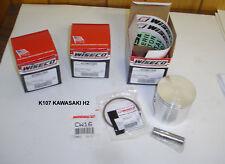 WISECO BIG BORE 780cc PISTON KIT K108 KAWASAKI H2 H-2 750 MACH 4 DRAGBIKE TRIPLE