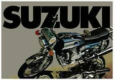 SUZUKI Poster RE5 1974 1975 Rotary Suitable to Frame #1