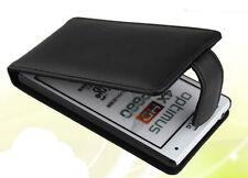 COVER CUSTODIA FLIP CASE PER LG P880 4X HD OPTIMUS ECO PELLE FODERO NERO NUOVO