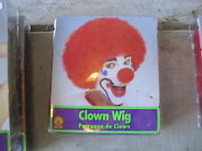 Red Clown Wig Man or Woman's Wig New LOOK
