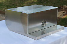 Peterbilt Smooth Clean Look Aluminum Toolbox/ Chainbox