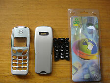 11 X NOKIA 3210 HOUSING FRONT FASCIA WITH LENS BACK BATTERY COVER KEYPAD SILVER