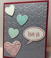 Stampin Up! Arrows Textured Impressions Embossing Folder –  New – Retired