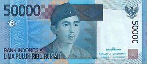 INDONESIA 2005 50,000 Rupiah P152 UNC