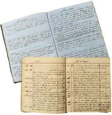 1861-1880 Diaries - FAR EAST RUSSIA - Pioneer Steam Navigation - AMUR RIVER
