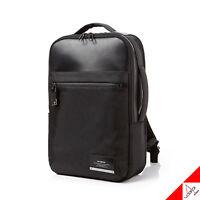 "Samsonite VESTOR Backpack Black Modern Business 14"" Laptop Bag DV609004 / PE,PU"