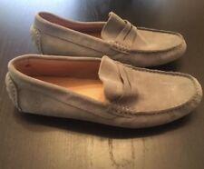 Los Mocassin Trapezio Women's Suede Gommar Moccasin Driving Loafers Size 39