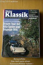 Motor Klassik 4/93 Maserati 3500 Cheetah Cadillac