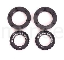 2pair American Classic Bike Center Lock Disc to 6-Bolt Disc Adapter Front+Rear