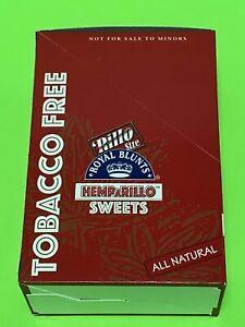FREE GIFT🎁Royal HEMPaRILLO Sweets 60 High Quality Hemp Wraps 15packs Rillo Size