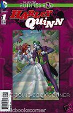 DC Comics HARLEY QUINN New 52 FUTURES END #1 3D Cover Near Mint Bag/Board