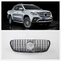 Front Grille Upper Grill For Mercedes Benz X-Class 2018+ Silver MA