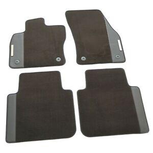 Original Seat Tarraco Premium Textil Fußmatten 4x Stoffmatten Logo Komplettsatz