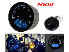 Universal Motorcycle Digital LCD Speedometer Mph For Harley Sportster Softail