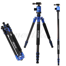 Zomei Z888C Portable Travel Carbon Fiber Tripod Stand With Ball Head For Camera