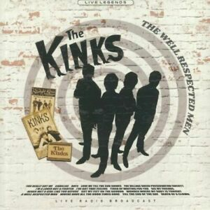 The Kinks - The Well Respected Men (Clear Vinyl LP) New Sealed