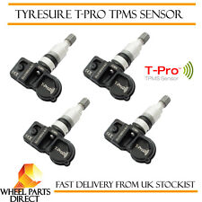 TPMS Sensors (4) TyreSure T-Pro Tyre Pressure Valve for Mini Cooper 15-EOP